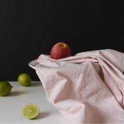 [Fabric] 실키에떼 하프린넨 히비스커스핑크 Hibiscus Pink