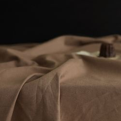 [Fabric] 실키에떼 하프린넨 차이티브라운 Chai Tea Brown