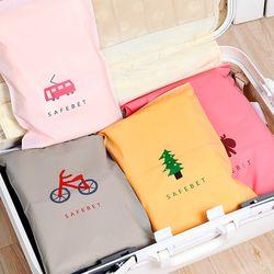 여행용 PVC 디자인 지퍼백 파우치