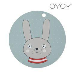오이오이 원형 플레이스매트 토끼