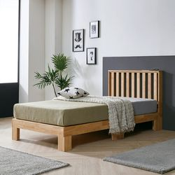 몬테 원목 침대 프레임 Q FMF126