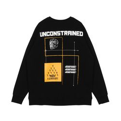 Unisex Yellow Mask MTM Black