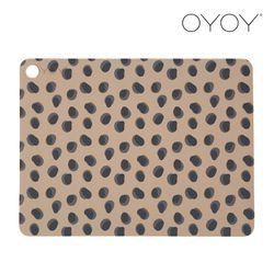 오이오이 플레이스매트 레오파드닷(Leopard Dots) 2 pcs