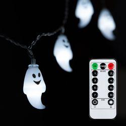 어반 LED 할로윈 장식 소품 조명 유령 가랜드 무드등 30P 방수형