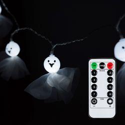 어반 LED 할로윈 소품 패브릭유령 무드등 20P 방수형