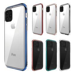 아이폰11 11프로 인피니티 클리어 슬림 범퍼케이스