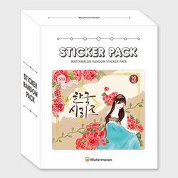 한국시리즈 팩 S10 스티커팩 인스 인스모음