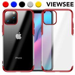 아이폰11프로 맥스 컬러라인 하드 투명 케이스