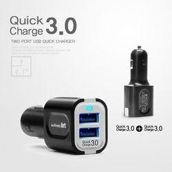 오토반 퀵 차지 3.0 2포트 USB 고속 충전기