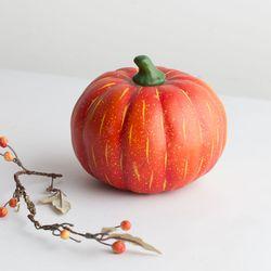 가을 호박 모형(15cm)