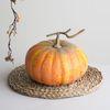 가을 호박 모형(22cm)