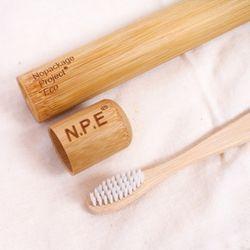 NPE 천연 대나무 칫솔 통 케이스