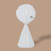쿨이너프스튜디오 x 라이프썸 선풍기커버 화이트 THE FAN COVER