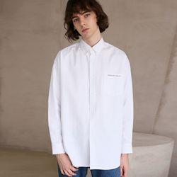 코튼 트윌 셔츠 29 WHITE