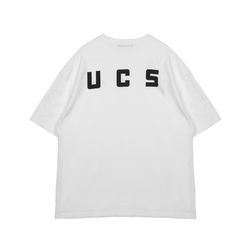 Unisex UCS Logo T-shirt White