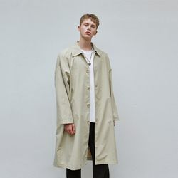 SINGLE OVERFIT MAC COAT BEIGE