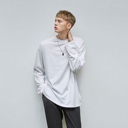 OVER LONG SLEEVE TEE IVORY
