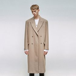 CLASSIC DOUBLE LONG COAT BEIGE