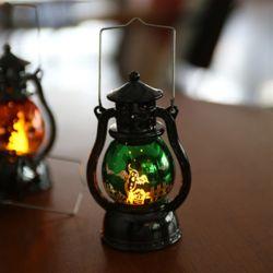 LED 할로윈 큐티랜턴 (소) 그린