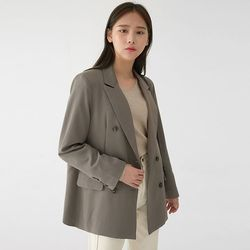 grace double button jacket
