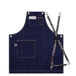 Denim Chest two pocket Navy S 실버이름판 [ARC1111]