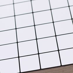 점착식 알미늄 메탈타일 솔리화이트 50mm (HMT99315)