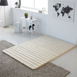 옵티피 삼나무 깔판 침대 퀸Q