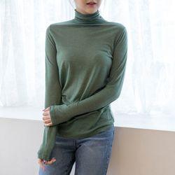 P8318 울혼방 폴라 티셔츠