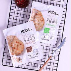 허닭 닭가슴살 스테이크 세트(총8팩)