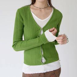 golgi slim fit cardigan (3colors)