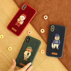 디자인스킨 아이폰876플러스 캐릭터 19FW 코듀로이 케이스