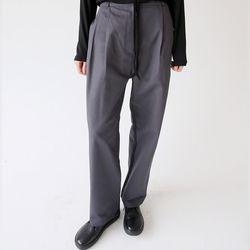 pintuck detail dry pants (3colors)