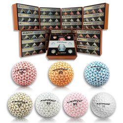 카에데볼 3칼라 9구SET 10박스 KAEDE 골프공 컬러볼