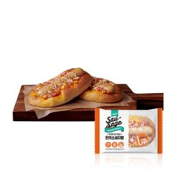 닭가슴살 한끼 소세지빵 120gx1팩 프로틴빵