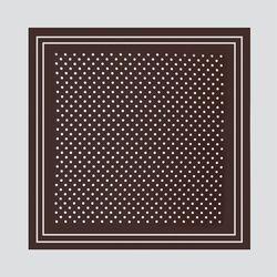 New M Dot Square Petit Scarf
