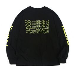 YOUTHFUL PK LONG SLEEVE-BLACK