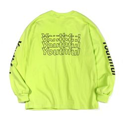 YOUTHFUL PK LONG SLEEVE-NEON GREEN