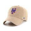 47브랜드 MLB모자 뉴욕 메츠 카키 로얄빅로고