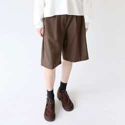 soft texture clean midi pants (3colors)