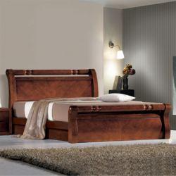 에어딕 무늬목 퀸Q 침대 매트리스 미포함