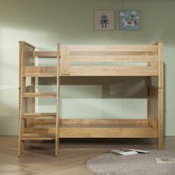 츠미 원목 2층 침대 기본형 SS