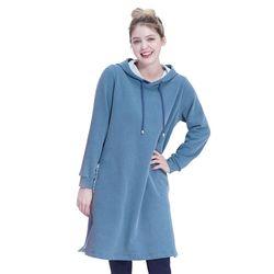 Pocket Long Hood One-piece (BLUE)