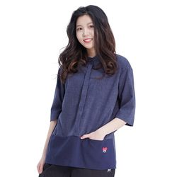 Combi Pocket Shirts (NAVY)