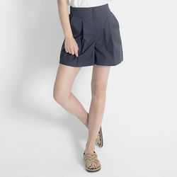 Linen Shorts (NAVY)