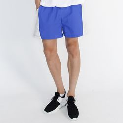 (UNISEX) MRMNT Color Track Shorts (BLUE)