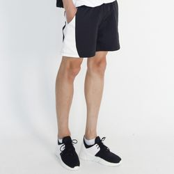 (UNISEX) MRMNT Color Track Shorts (BLACK)