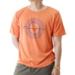 (UNISEX) Feel Freedom Short Sleeve T (ORANGE)