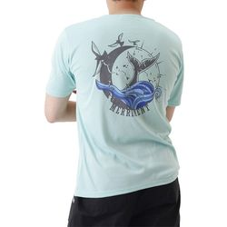 (UNISEX) Waves by Whales Short Sleeve T (MINT)