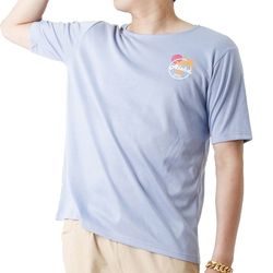 Aloha Hawaii Summer Short Sleeve T (SKY BLUE)