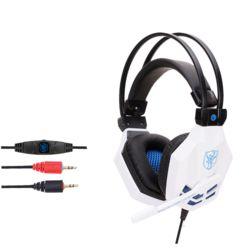 제노스 850MV LED 게이밍 헤드셋(화이트)